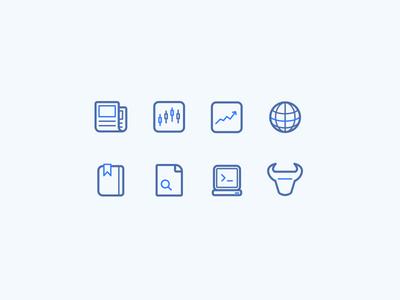 Icon Set - Day 055 #dailyui