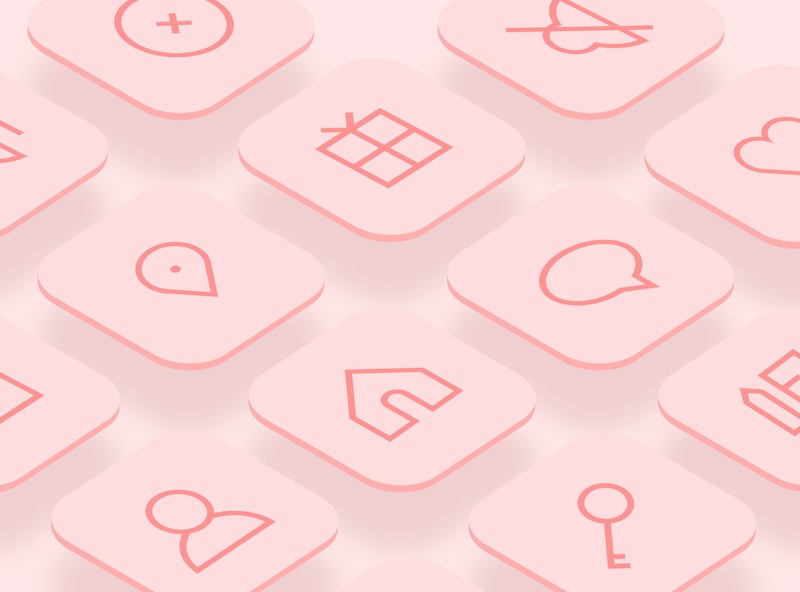 UI Essential Icons - Candy Style user interface design vector icons vector icon set vector icon icons user interface iconography icon set icon appicondesign app design ui mobile mobile design dailyui