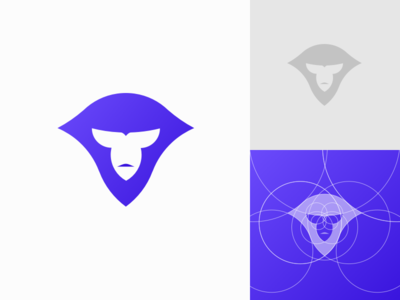 MaximusPrime Logo Construction outline solid constructions geometric circle layout symbol icon ape lines logo