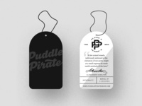 Puddle Pirate Hang Tags