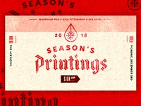 Season's Printings | PGH | 2