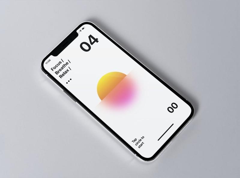 iPhone 13 Mock-up mockup phone mockup iphone 13 mockup iphone 13 iphone phone typography ux vector ui logo 3d illustration graphic design design branding