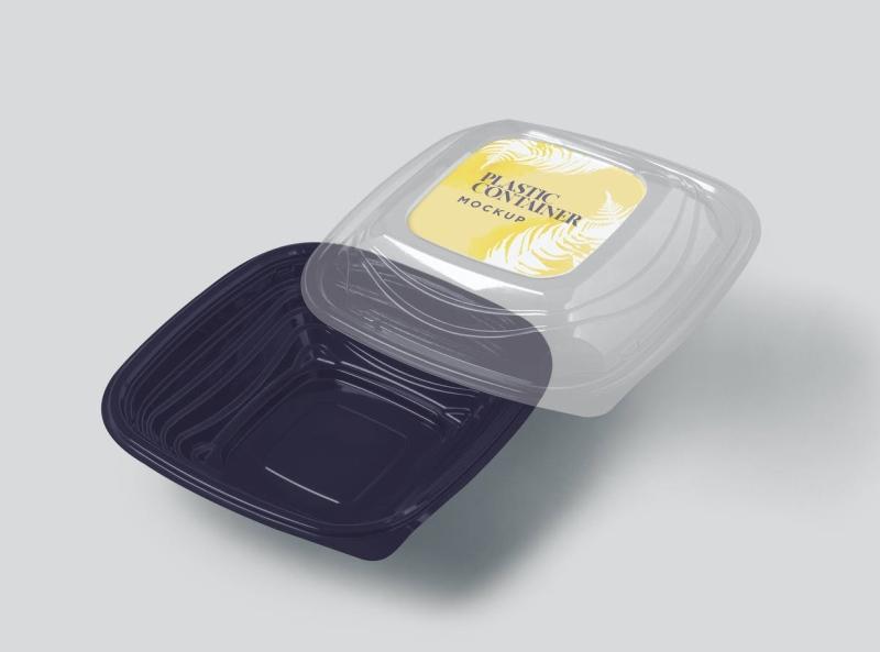 Plastic Container Mockup container mockup packaging design packaging container plastic mockup typography ux vector ui 3d logo illustration graphic design design branding