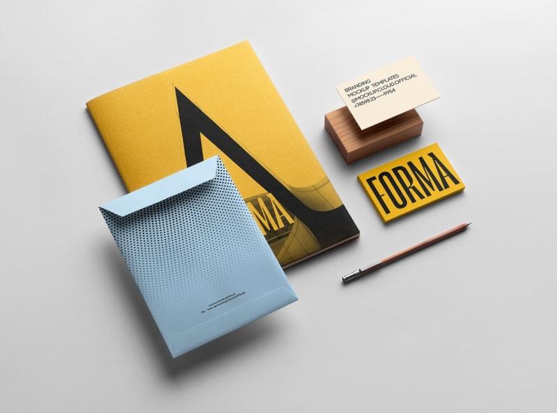 Forma Branding Mockup brand identity brand identity branding mockup mockup forma typography ux vector ui 3d logo illustration graphic design design branding