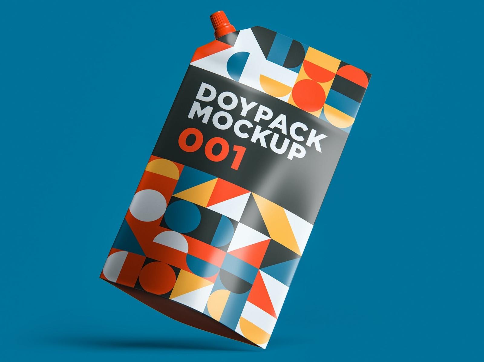Doypack Mockup package design packaging design packaging package ziplock mockup doypack typography ux 3d vector ui logo illustration graphic design design branding