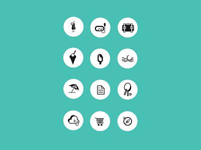 Icon v1 Concept art black icon concept illustrator vector icon