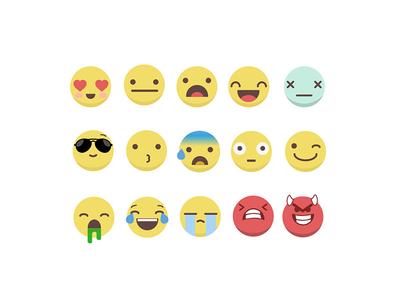 Emoji concept graphic design design practice illustration vector concept emoji