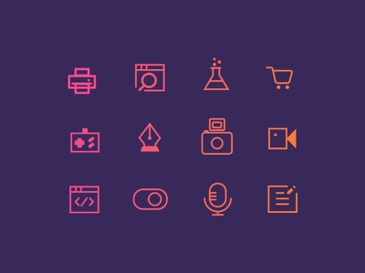 Icon v4 graphic design design practice illustration vector concept icon