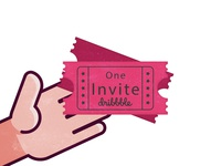 one Invite dribbble