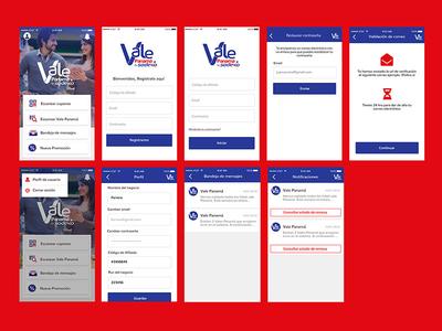 Vale Panama app design vector photoshop adobexd ux ui app supermarket
