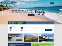 ViaAir New Homepage 2015