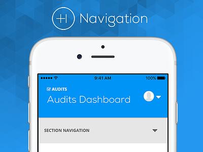 Product Navigation navigation material design