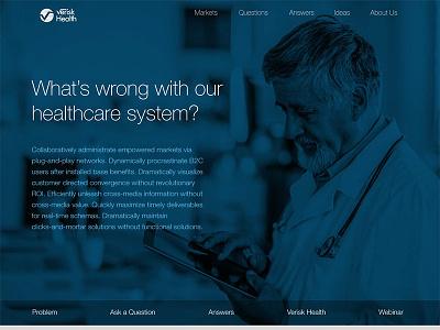 Landing Page healthcare marketing landing page