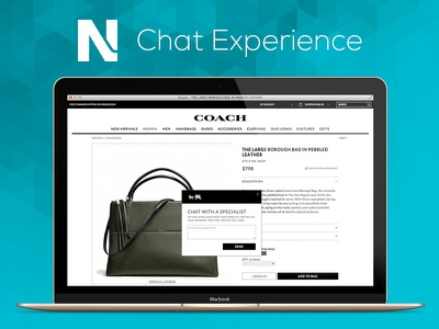 Needle Chat Experience prototype ux design chat