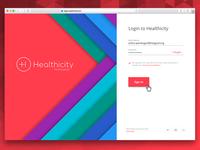 Healthicity Login
