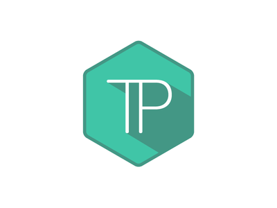 Trev Poulson Design Logo flat log