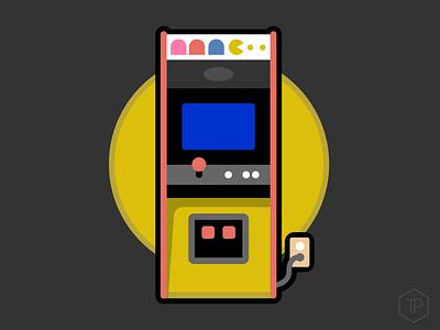 Pacman Illustration pac-man illistration arcade
