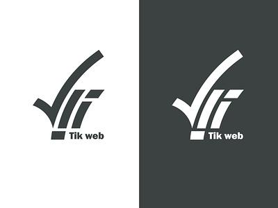 Tik web logo design brand identity logo design logodesign mim studio mhs.mirzaei branding brand logo app logo design app logo web web logo tik