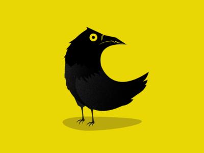 C is for crow crow 36days-c 36daysoftype