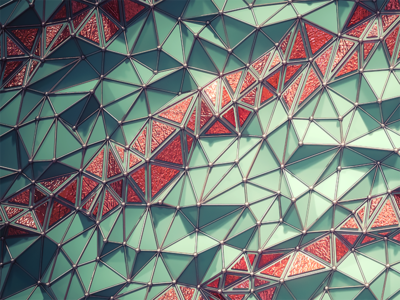 C4d Fractured Background