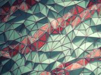 C4d Fractured Background