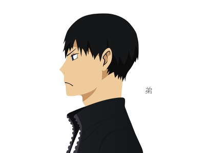 Illustration | Tobio Kageyama haikyuu haikyuu!! character portrait illustration portrait manga challenge anime illustrator illustration tobio kageyama
