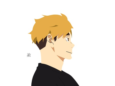Illustration | Atsumu Miya miya atsumu haikyuu!! haikyuu manga portrait illustration portrait character challenge anime illustrator illustration