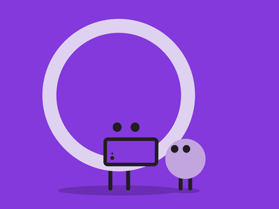 Friends Reading Together ux design ui surprise simple shadow red parent music microinteraction happy friends experience design emotion digital delightful child character animation app animation after effects