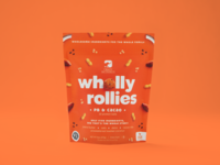 Wholly Rollies (PB & Cacao)
