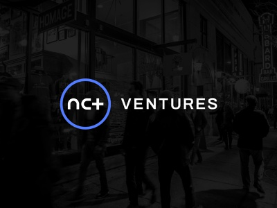 NCT Ventures Logo photo branding typography digital app fintech healthtech tech circle sanserif modern navy black blue color vibrant startup logo logo venture capital