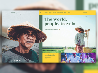 The World  People  Travels best belarus main site web adobe we design web ui design brest concept ui  ux minsk inache ux webdesign design web ui
