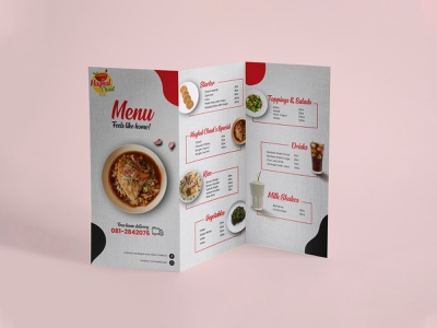Menu Design minimal flyer design poster design poster art poster menu card menu design menu flyer logo graphic design design branding art