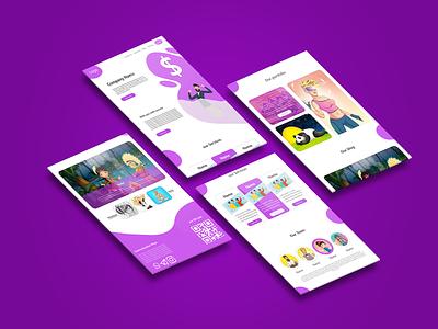 Website design for mft student education photoshop purple minimal ui ux designer xd ux design ux ui design ui design adobe xd