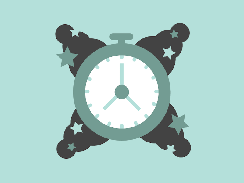 Design Tarot — Patience stars patience watch clock teal monochrome mystic eye illustration cards david schwartz tarot