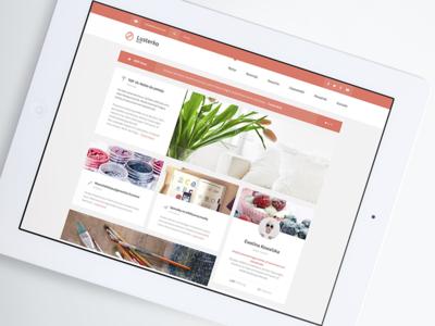 Beauty Blog Webdesign
