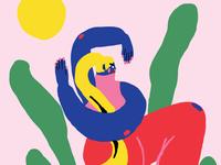 Illustration for Ankali, february 2018