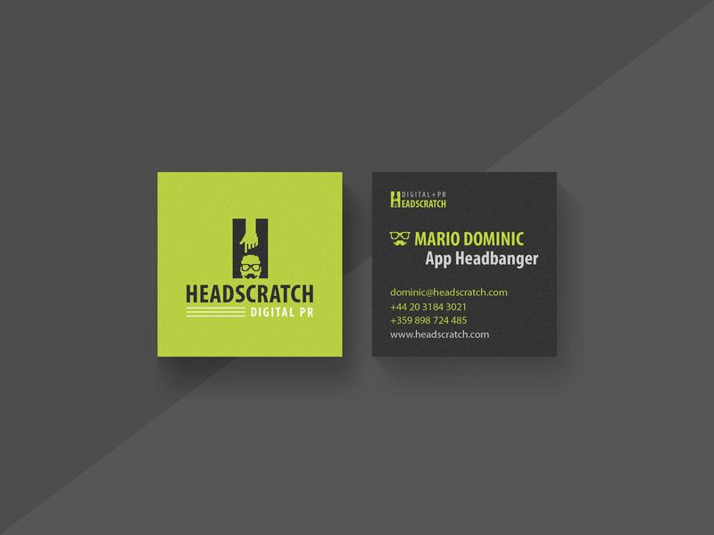 Headscratch brand : Business cards #1 pixel card busuiness cards busuiness card branding bizzness