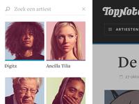 TopNotch - Artists