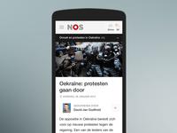 NOS - Article (mobile)