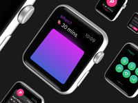 Pingsy for Apple Watch #02 pingsy freeassociation fa niek dekker apple watch watch ui design messaging notifications