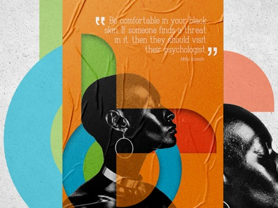 Wearblack Trends blackagenda blackbeauty blackskin poster art poster poster design posters poster a day design black lives matter african woman african art africa