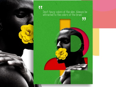 WearBlack (the yellow rose) empowerment 2021trend wearblack blackskin blackagenda poster art poster design african art design poster a day black lives matter african woman africa