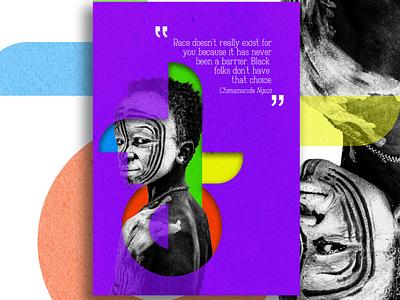 WearBlack (no race) africanpeople 2021trend blackskin poster poster design poster a day black lives matter african woman african art africa