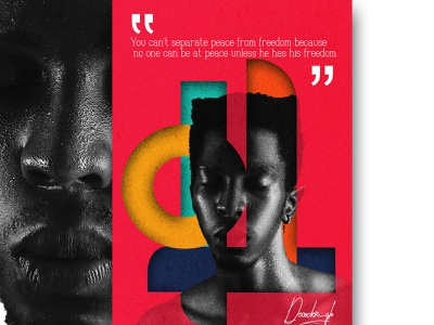 Peace and Freedom inspire motivate blackandwhite accross abstract design fineart colourful design freedom rerdsystem newtrend grapics design african art blackskin poster posters 2021trend poster a day black lives matter africa