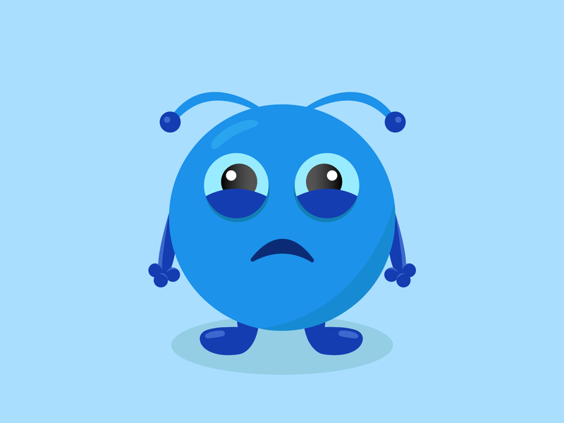 Sadness logo illustrator illustration design art