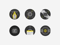 Webdesign badges