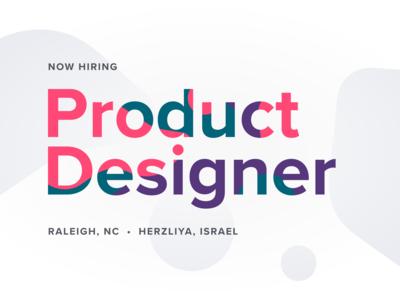 Now Hiring: Product Designer