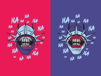 Batman Who Laugh Fan Art Illustration