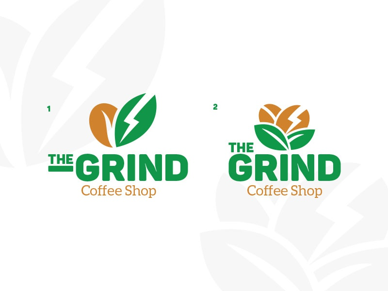 #1 The Grind - 30daylogochallenge typo typography graphidesign dailydesign design logo branding thirtylogos