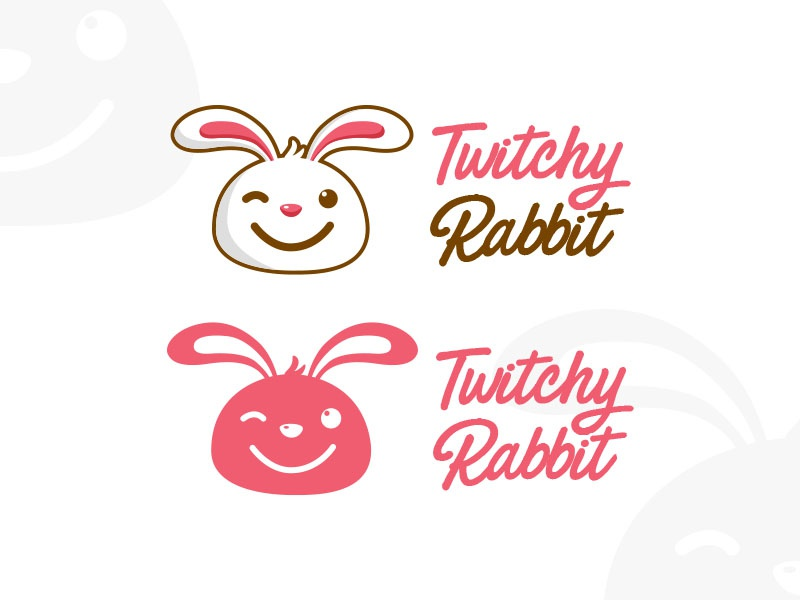 #2 Twitchy Rabbit - 30daylogochallenge dailydesign designdaily graphicdesign typography typo logo thirtylogos design mockup app marketing email
